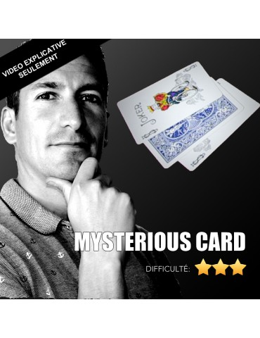 VIDEO MYSTERIOUS CARD